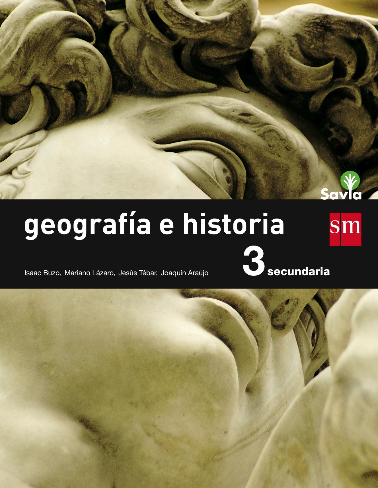 Geografía e historia. 3 ESO. Savia