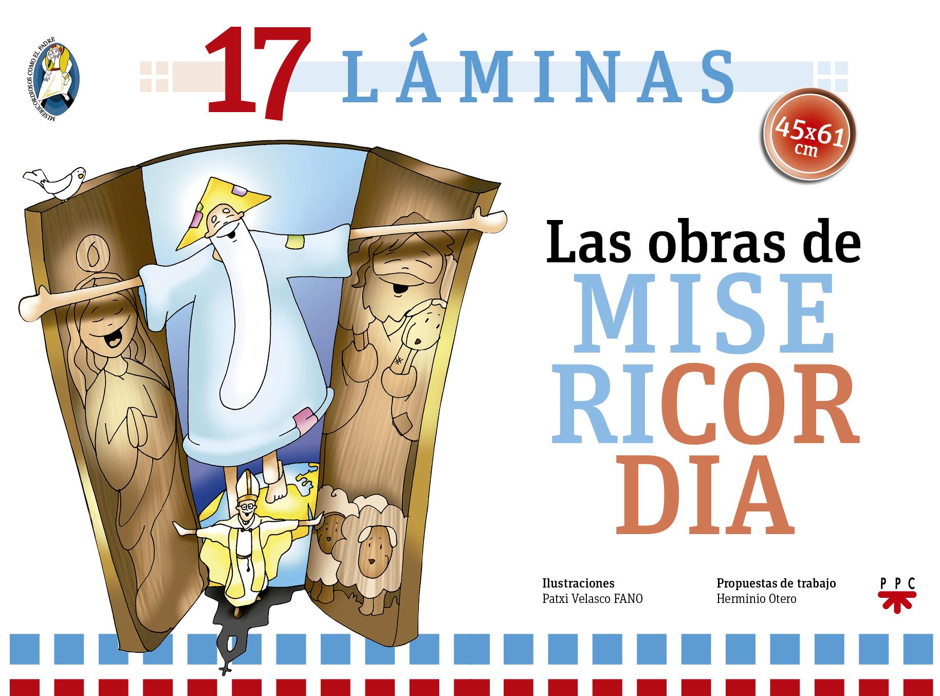 Las obras de misericordia carpeta con laminas ppc editorial - Laminas para la pared ...